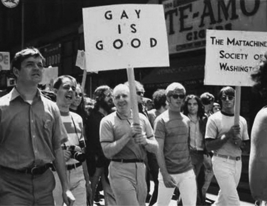 Frank Kameny Marching with Gay Is Good Sign_900x695