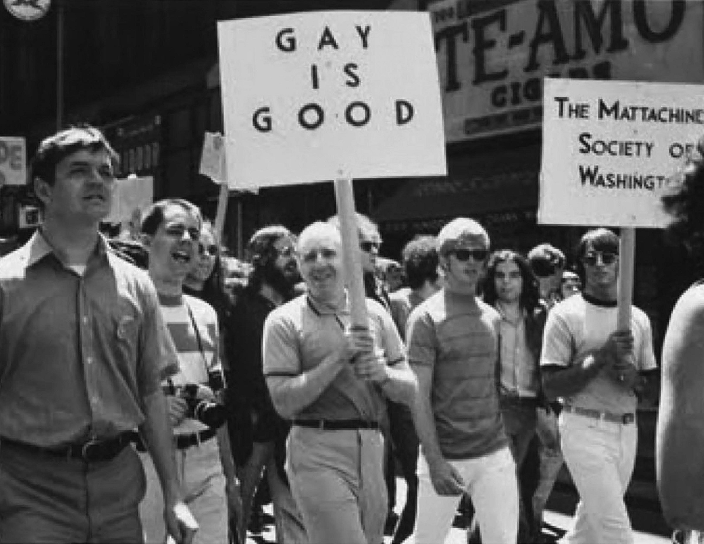 Frank Kameny Marching with Gay Is Good Sign