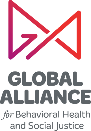 Global Alliance for Behavorial Health and Social Justice text logo