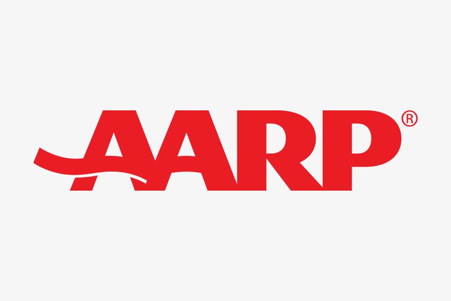 aarp text logo