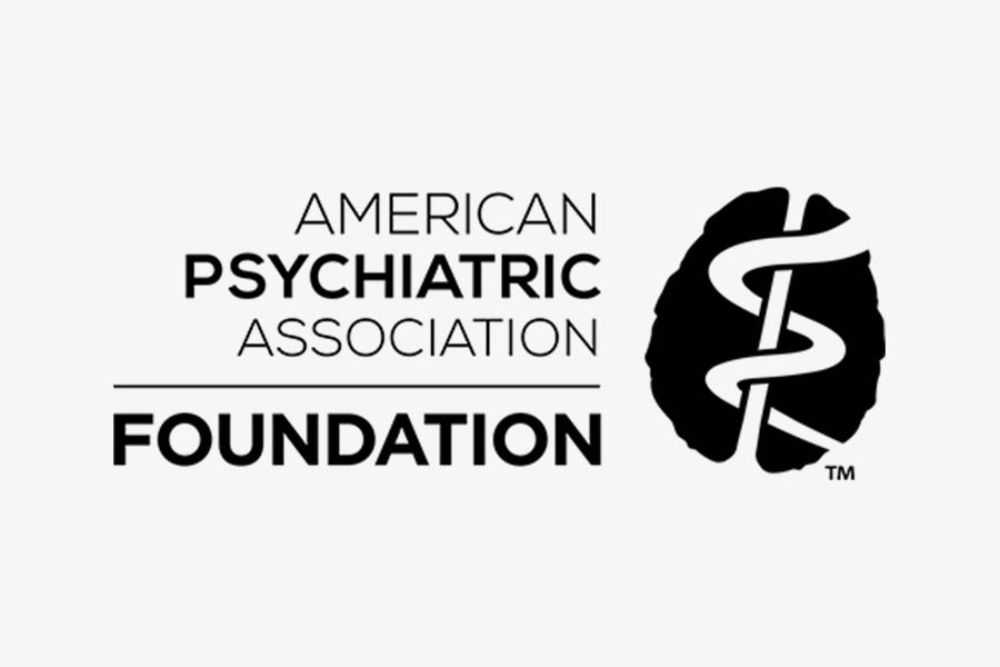 American Psychiatric Association Foundation text logo
