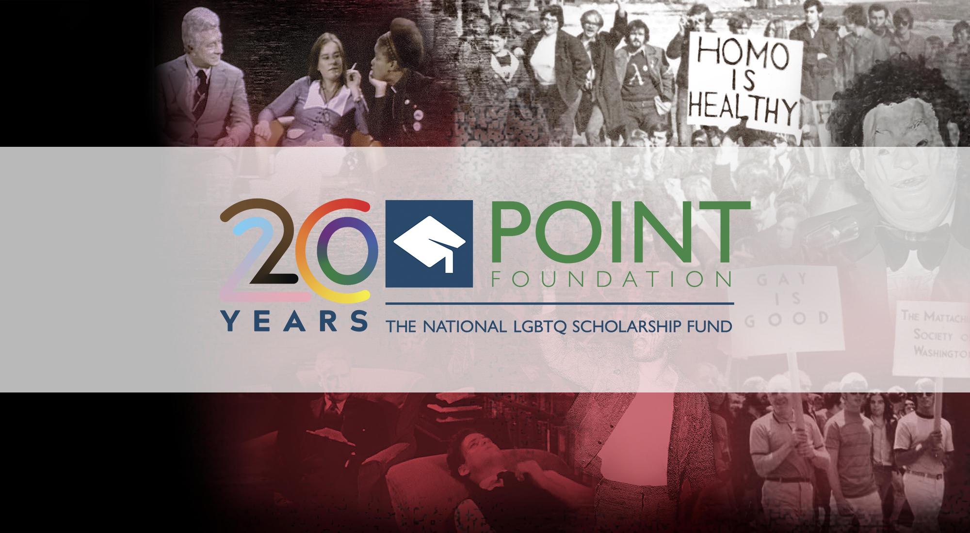 Celebrating 20 years of Point Foundation